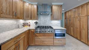 Red Birch Kitchen Cabinets Englewood Pittsburgh Remodeling Company