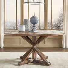 Wood Round Dining Room  Kitchen Tables Shop The Best Deals For - Round wood dining room tables