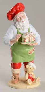lenox annual santa figurine at replacements ltd