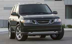 saabaru interior 2008 saab 9 7x aero feature features car and driver