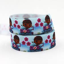doc mcstuffins ribbon online get cheap doc mcstuffins grosgrain ribbon aliexpress