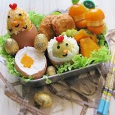 Easter Food Decorations Craft by Easter Chicky Bento Easter Recipes Easter Food Ideas Diy