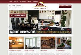 kitchen website design 20 great local business lead generation website designs lead