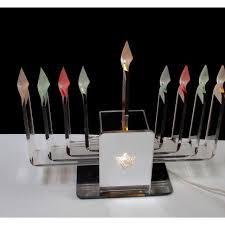 lucite menorah lucite menorah judaica hanukkah acrylic chairish