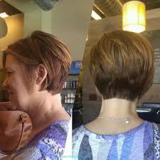 is a pixie haircut cut on the diagonal short sassy brunette long pixie forward diagonal disconnected bob