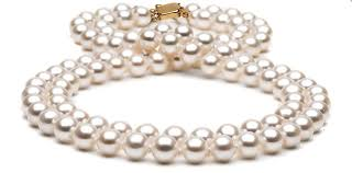 double pearl bracelet images Double strand freshwater pearl necklace 9 5 10 0mm jpg