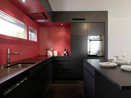 Red And Black Kitchen Ideas Pictures On Red And Black Walls Free Home Designs Photos Ideas
