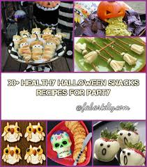Easy Healthy Halloween Snack Ideas Cute Halloween Fruit And 30 Healthy Halloween Snacks Recipes For Party