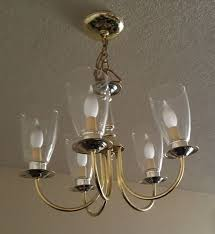 Painting Brass Chandelier How To Update An Ugly Apt Brass Chandelier W Out Removing Fr