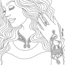 788 best beautiful women coloring pages for adults images on