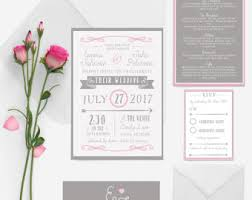 Wedding Invitation Bundles Wedding Invitations Etsy Uk