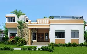 one storey house four bedroom one storey with roof deck shd 2015021
