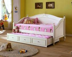 sullivan black twin bed with trundle and storage drawers girls