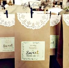thanksgiving treat bags each place special cottage in