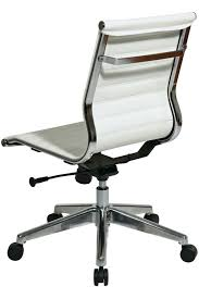 desk chair without arms leather office chair without arms