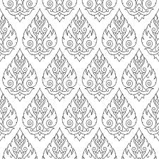 thai design seamless thai pattern repetitive background from thailand vector