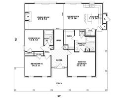 southern style house plan 3 beds 2 00 baths 1670 sq ft plan 81 274