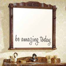 mirror decals home decor dctop be amazing today mirror wall sticker vinyl mirror decal