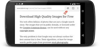 chrome for android how to enable reader mode in chrome for android