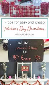 cheap valentines day decorations 7 tips for easy and cheap s day decorations