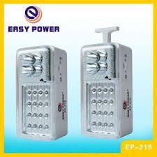 easy power emergency light china portable rechargeable led emergency light ep 219 china