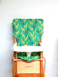 Eddie Bauer Light Wood High Chair Eddie Bauer High Chair Seat Pad Home Chair Decoration