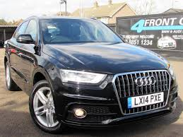used 2014 audi q3 2 0 tdi s line 5dr 6 speed manual diesel for