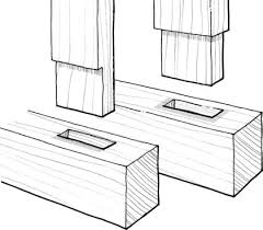 Wood Desk Plans Free by Wood Joinery Techniques Free Tutorial U0026 Desk Building Plan