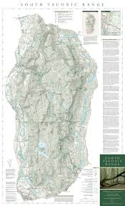 New York Appalachian Trail Map by Section Hike Massachusetts