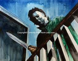 michael myers halloween horror nights the horrors of halloween halloween horror film portraits by kevin