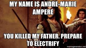 My Name Is Inigo Montoya Meme - my name is andre marie ere you killed my father prepare to