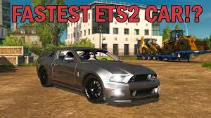 mod car game euro truck simulator 2 shelby mustang gt ets2 car mod euro truck simulator 2 youtube