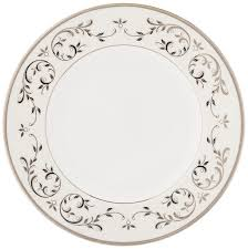 amazon com lenox opal innocence silver 5 piece place setting