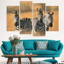 Art For Living Room by Online Get Cheap Zebra Paintings Aliexpress Com Alibaba Group