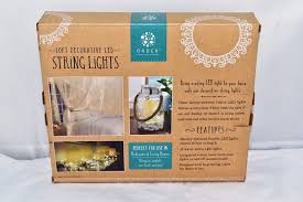 decorative led lights for homes order home collection 10 ft led decorative string lights built in