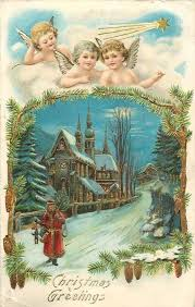 1040 best vintage christmas postcards plus more images on
