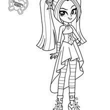 sonata dusk coloring page coloring pages t pinterest my