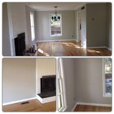 light gray walls with light oak hardwood floors wall color