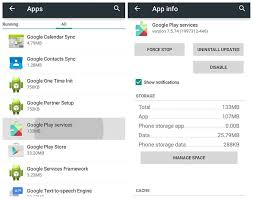 play services apk version and install the play services apk 11 0 x