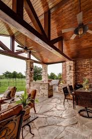 Traditional Outdoor Furniture by T G Ceiling Porch Traditional With Outdoor Kitchen D Outdoor Wall