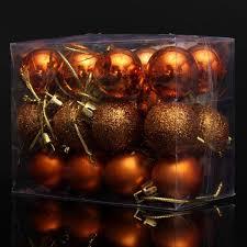 48pcs 3cm christmas tree xmas balls decorations baubles party