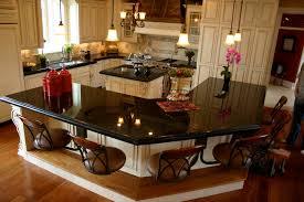 granite kitchen islands with breakfast bar cream kitchen island with granite top u2013 quicua com