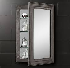 Decor Restoration Hardware Medicine Cabinet For Unique Home Zinc Medicine Cabinet On Sale Restoration Hardware Master Bath
