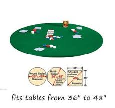 card game table cloth 48 round elastic stretch felt tabletop card game table cloth cover