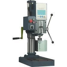 Pedestal Drill Ajax Machine Tools Ajsbm25b Industrial Geared Head Bench Drill 3ph