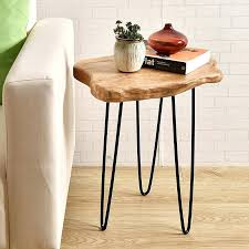 Jardan Side Table Tuck Away End Table Rustic Side Tables Cedar Wood Jardan