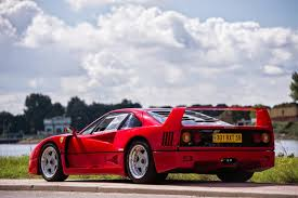 how many f40 are left the f40 turnes 30 is it the most iconic supercar of the