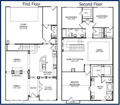 two floor house plans uncategorized small two floor house plan outstanding in