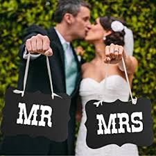 wedding photo props mr and mrs photo props mr and mrs chair signs