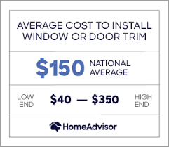 how much does it cost to install base cabinets 2021 cost to install or replace door casing window trim